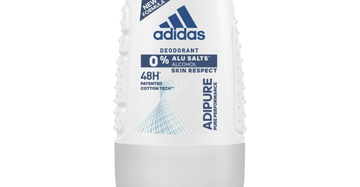 adidas lanseaza noul deodorant ADIPURE cu protectie 48h