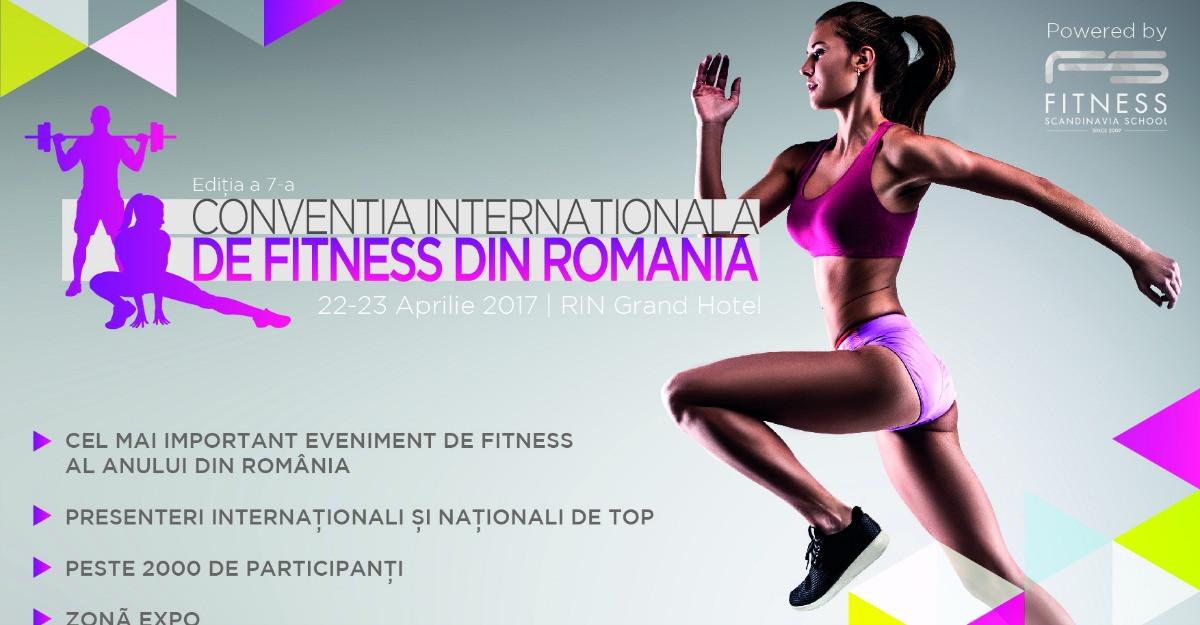 Participa la Conventia Internationala de Fitness editia a 7-a by Fitness Scandinavia
