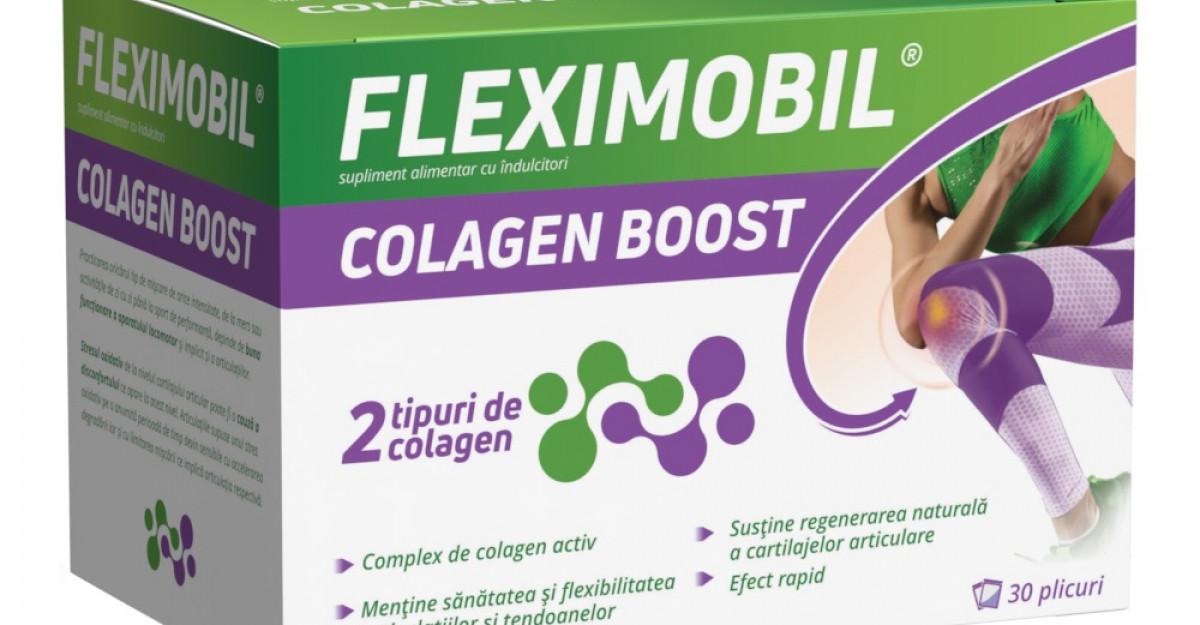 Boost de colagen pentru articulații sănătoase