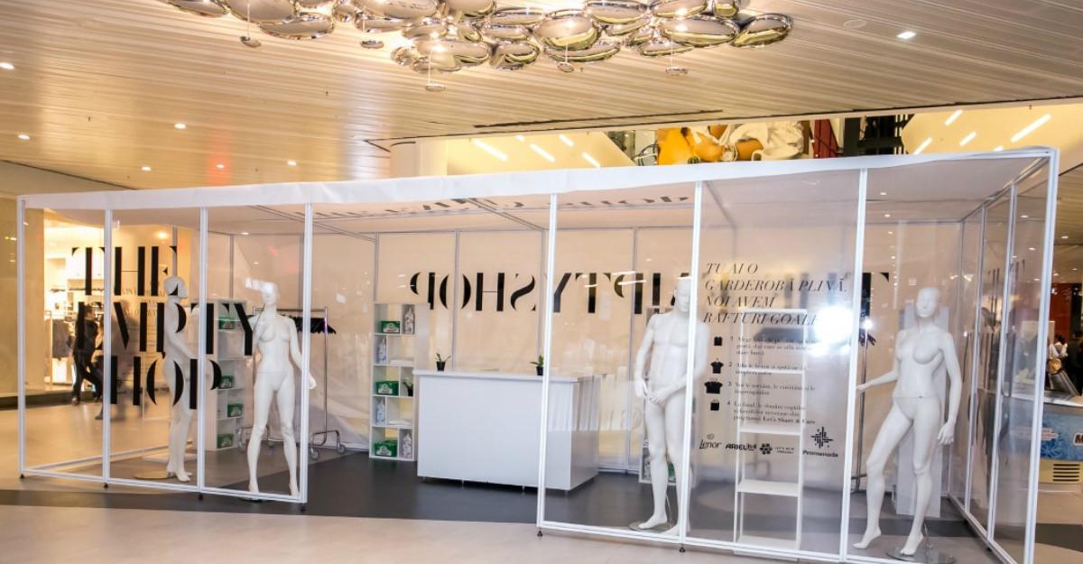 Promenada deschide primul magazin gol din România