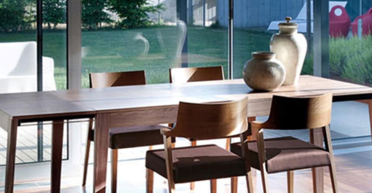 17 modele de scaune si mese de dining contemporane