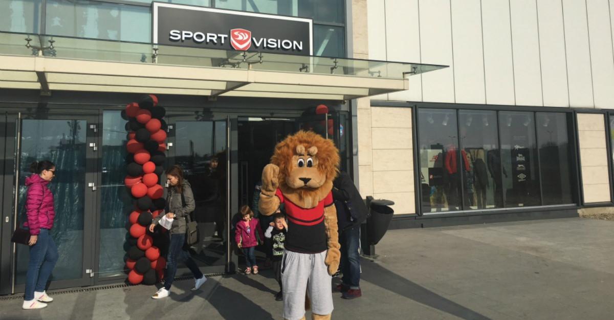 Colosseum Retail Park te asteapta cu un nou magazin: Sport Vision