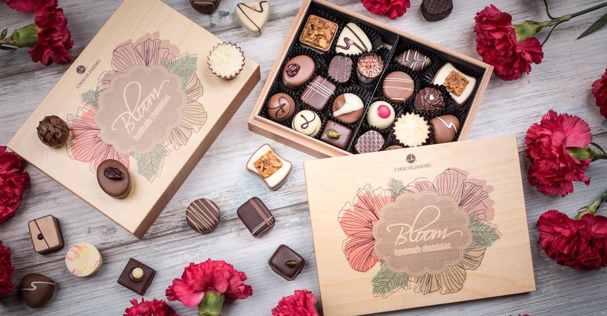 Mărțișoare și cadouri dulci în colecția Chocolissimo pentru luna femeilor