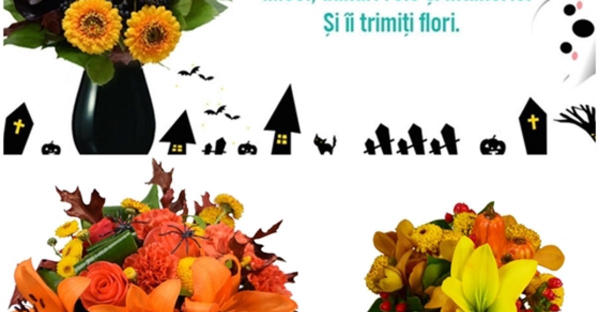 Flori care dau fiori de Halloween