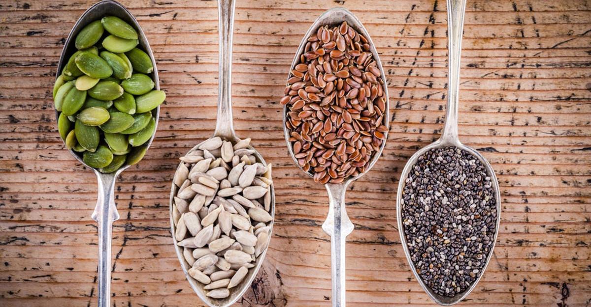 Semințe crude pe care să le introduci în alimentație