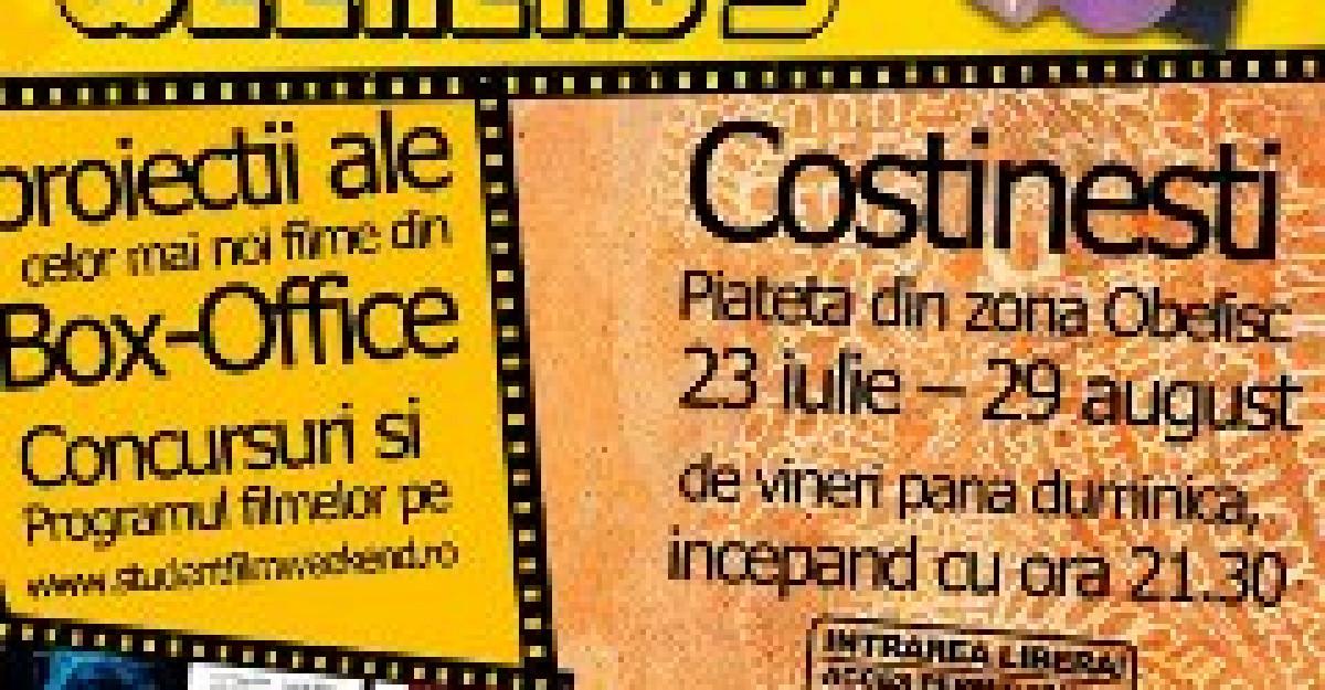 Weekend-uri cu film la Costinesti