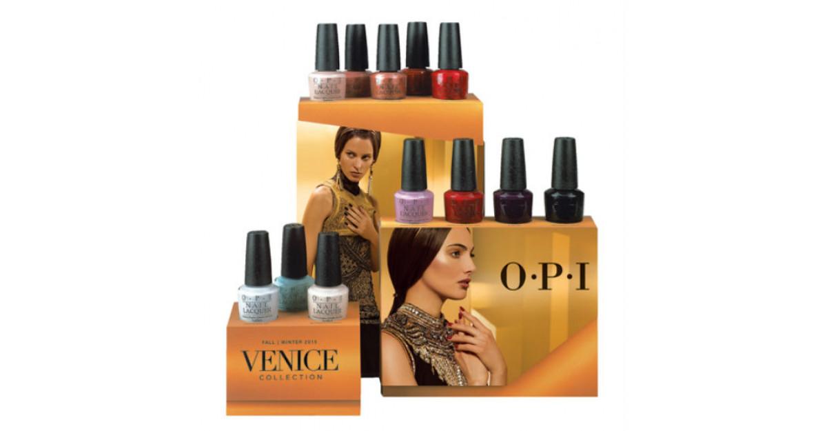 Evadeaza in Italia cu noua colectie OPI Venice