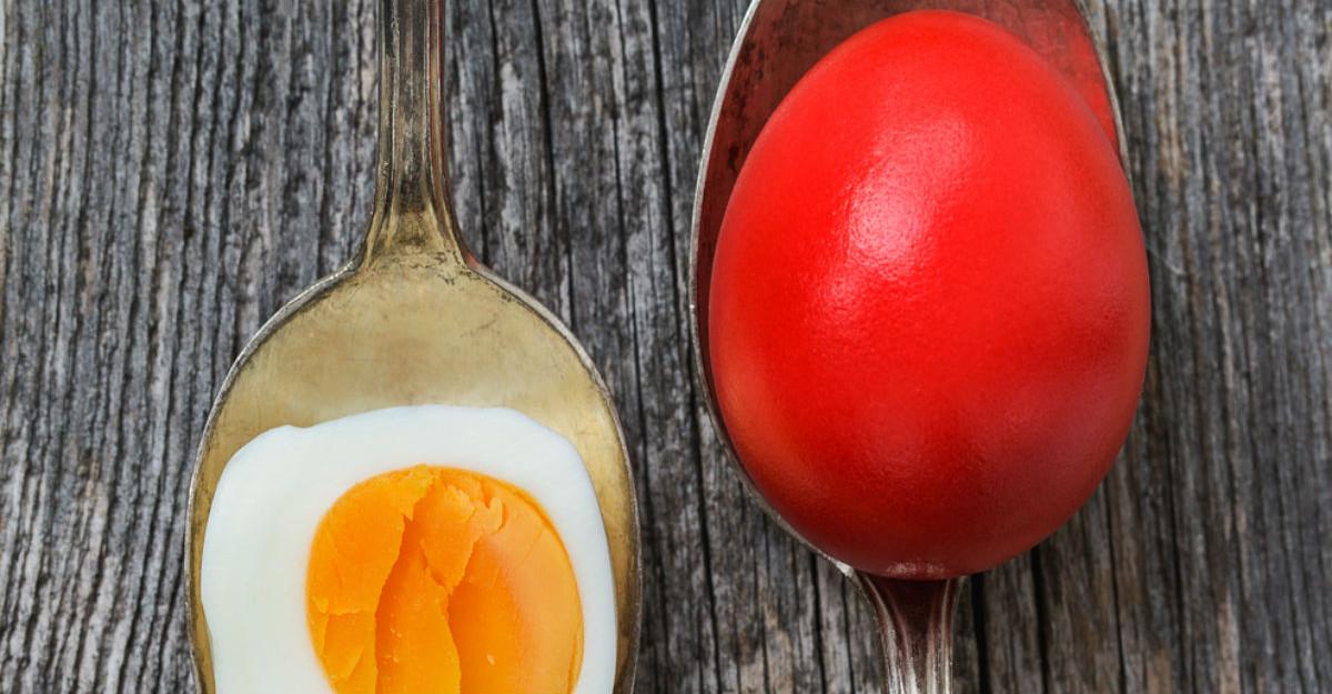 Cum sa faci oua de Paste... perfecte!