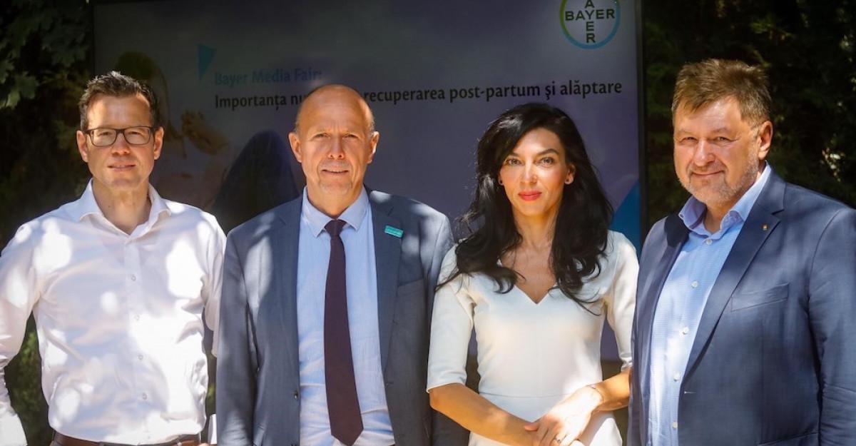 Bayer România deschide o conversaţie despre importanţa nutriţiei în recuperarea post-partum şi alăptare, într-o nouă ediţie a ev