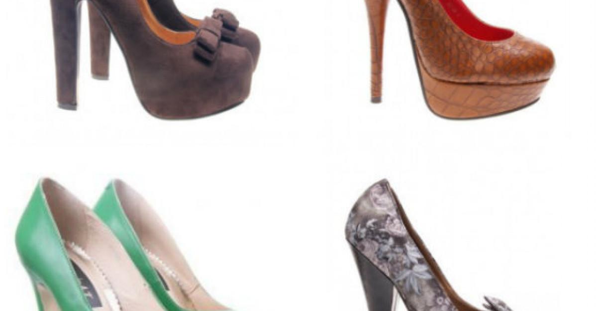 15 pantofi cu toc inalt