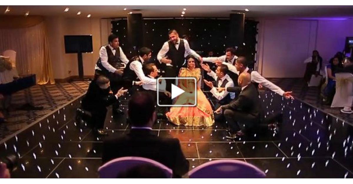 Video: Sapte frati au facut CEA MAI FRUMOASA supriza pentru sora lor in ziua nuntii