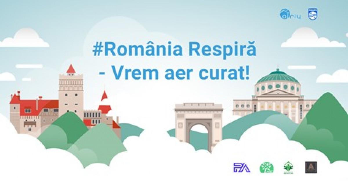 Româniarespiră - Vrem aer curat