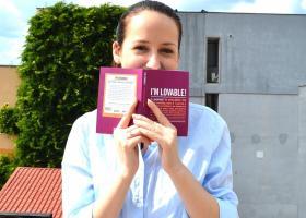 """Agendă-jurnal cu citate motivaționale """"I'm Lovable"""" pentru încredere în tine"""