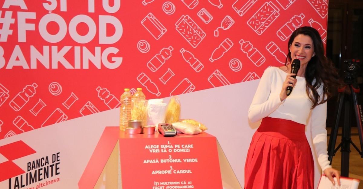 Crucea Roșie relansează programul Banca de Alimentesub mesajul Banca pentru Altcineva
