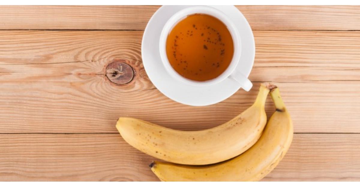 Beneficiul nestiut al ceaiului din banana