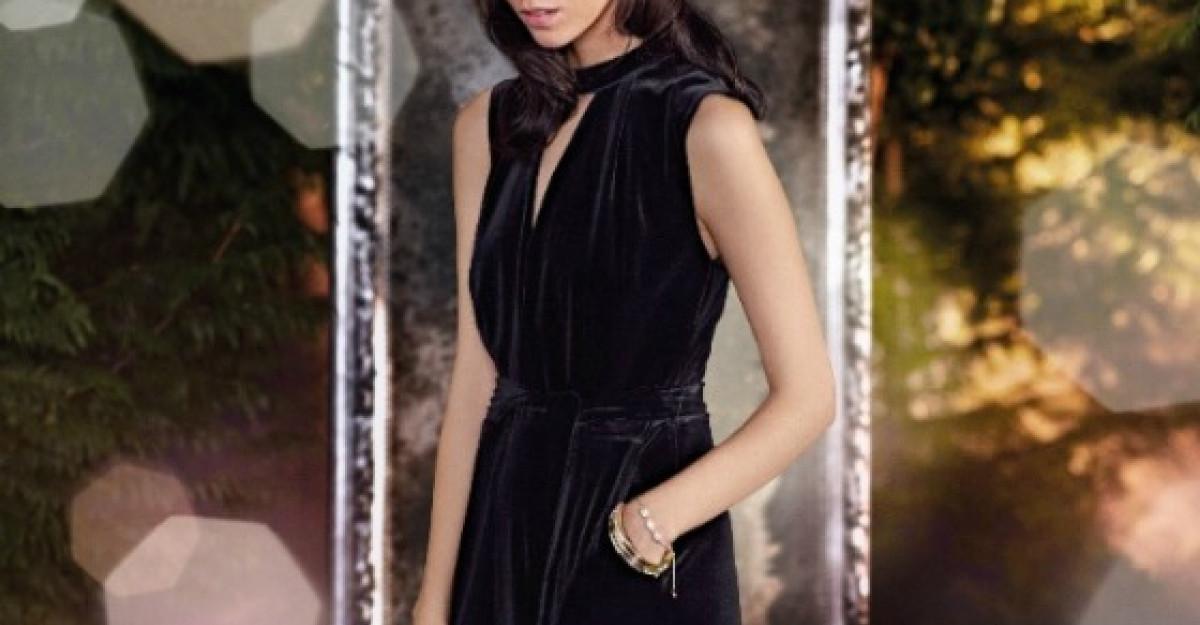 Aparitie Noir plina de eleganta cu tinutele Marks & Spencer