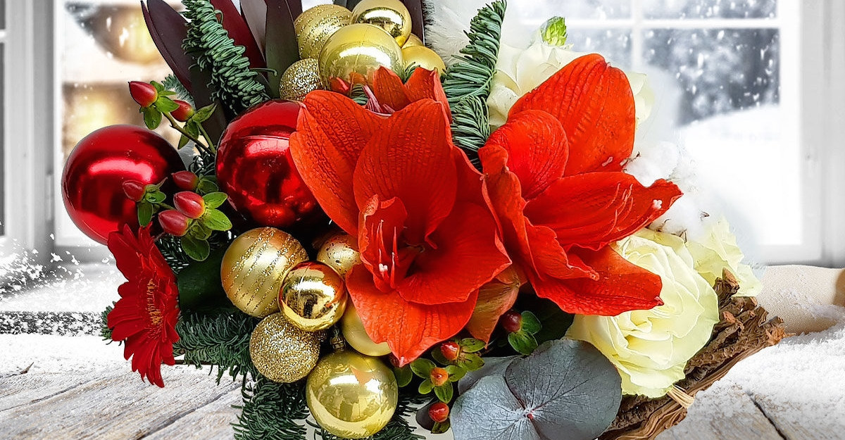 Șampanie și scorțișoară - condimentele inedite din noua colecție Floria.ro de Crăciun