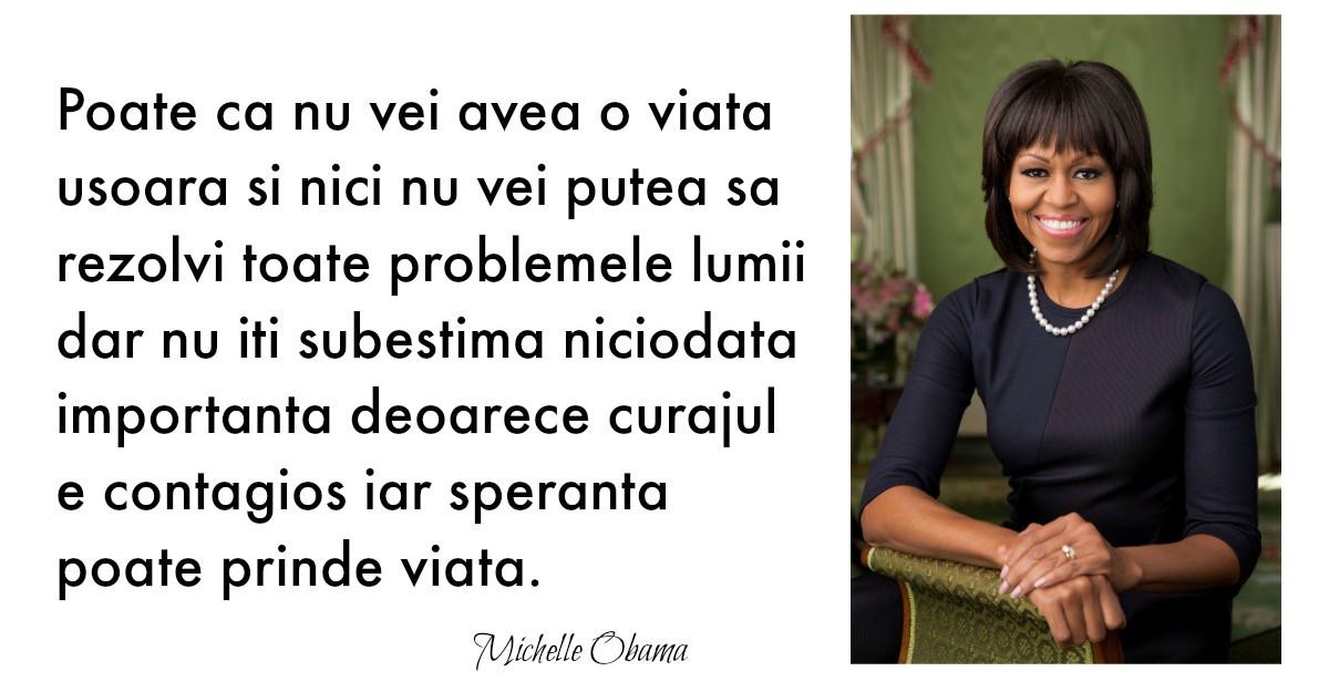 Alfabetul dragostei: Cele mai frumoase citate despre iubire dupa Michelle Obama