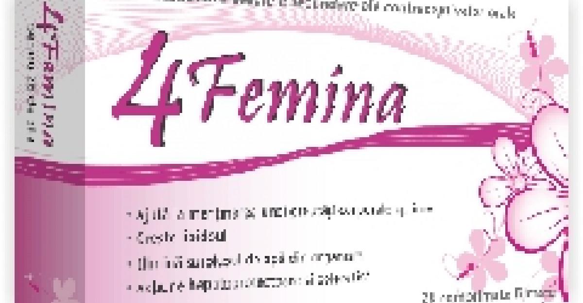 4Femina, pentru ca meriti sa te simti bine in corpul tau!