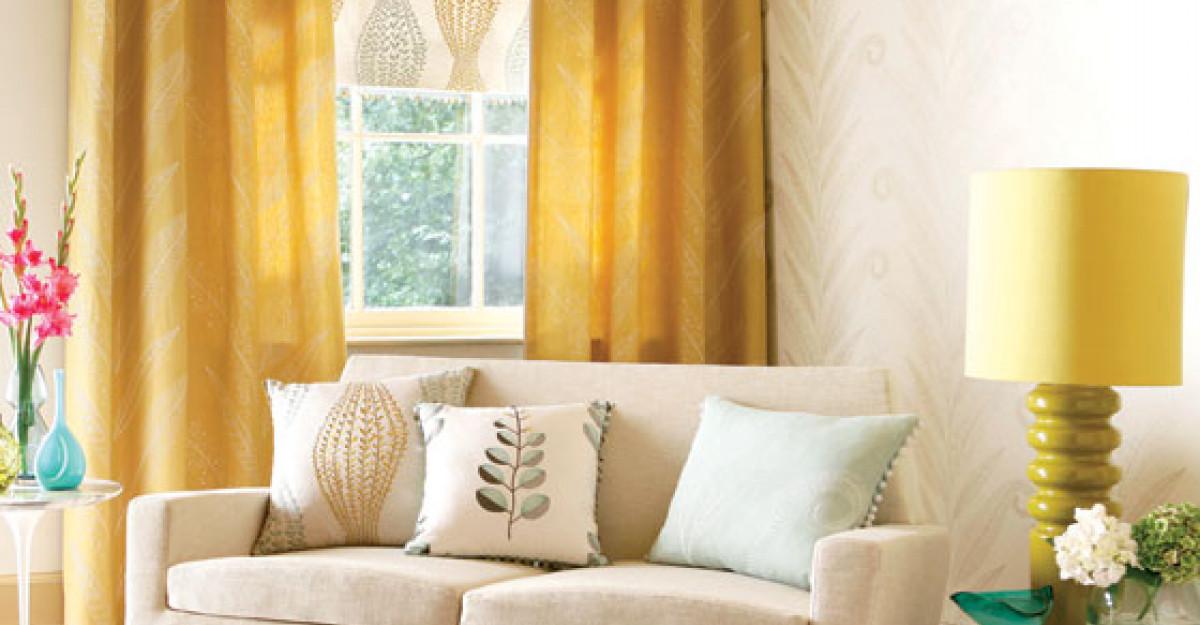5 moduri de a utiliza culoarea galben in locuinta