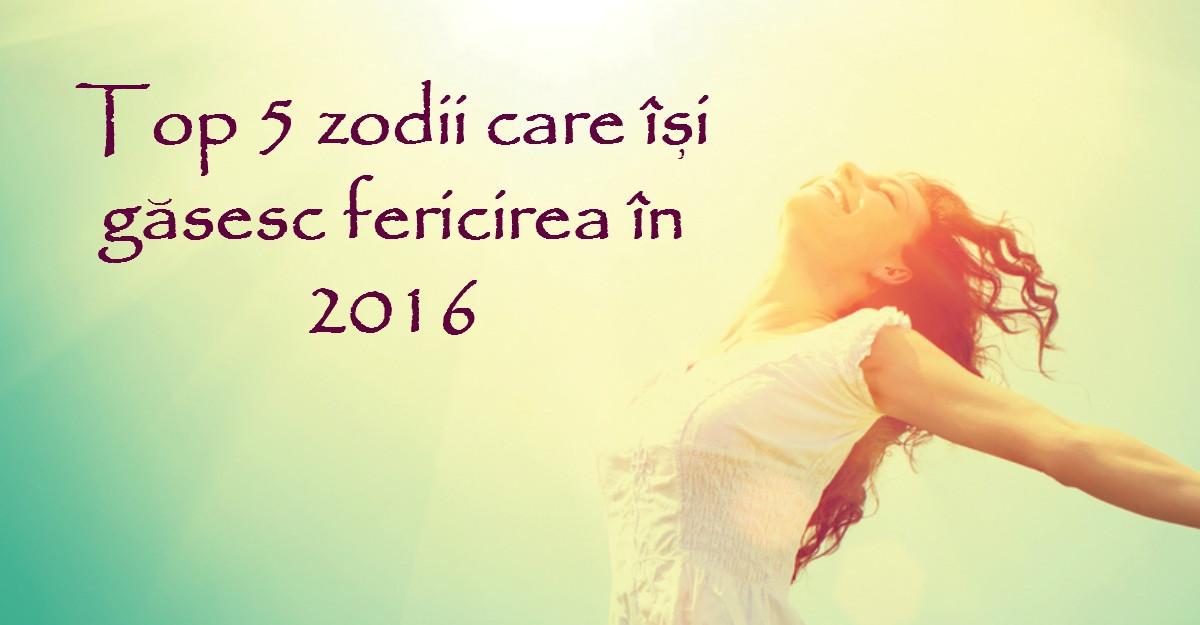Top 5 zodii care isi gasesc fericirea in 2016