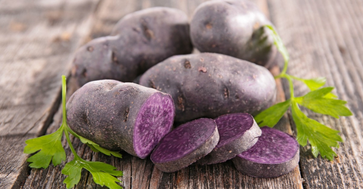 Cartofii mov: De ce sa ii incluzi in alimentatie?