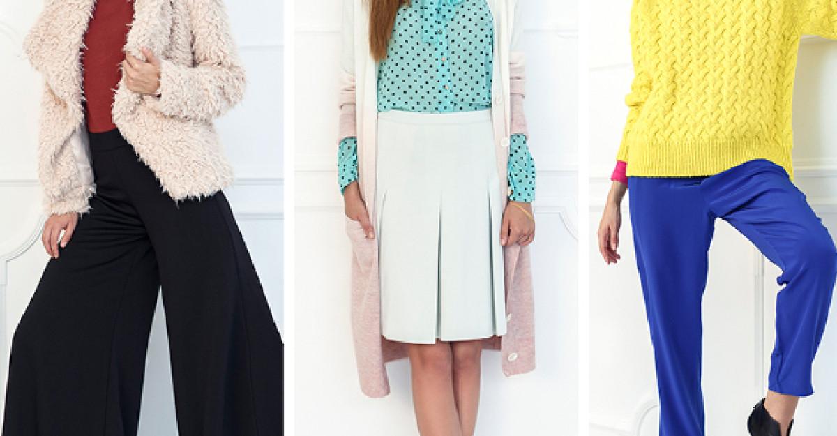 Fii o sursa de inspiratie in fiecare zi cu noile colectii toamna-iarna de la Fashion Days