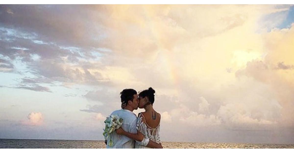 Cum arata o nunta in Paradis? + Cea mai indrazneata rochie de mireasa!