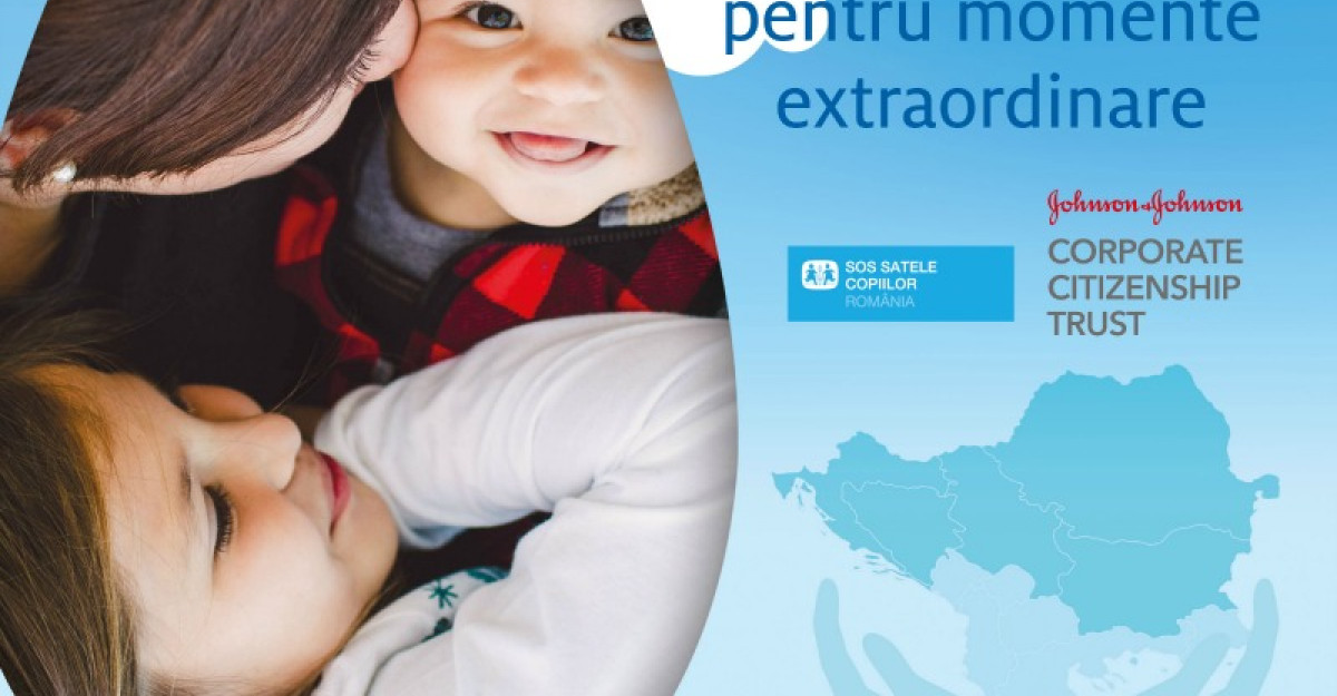 Johnson&Johnson si SOS Satele Copiilor implementeaza in tarile din Balcani proiectul Health is for Everyone