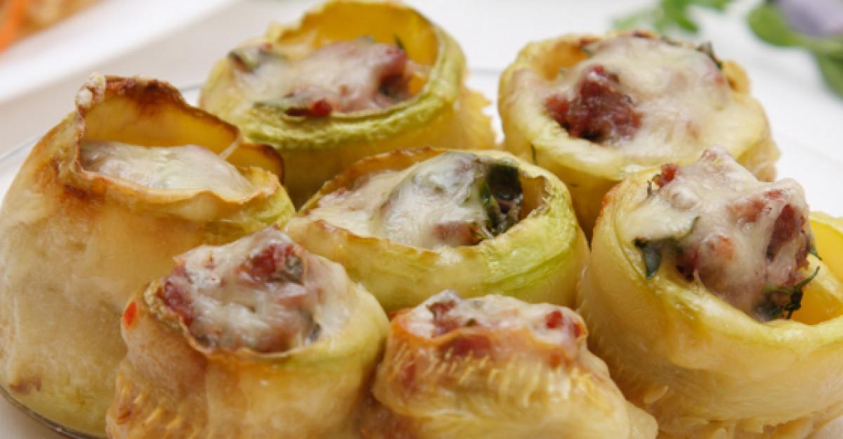 Reteta de vara: Zucchini umpluti