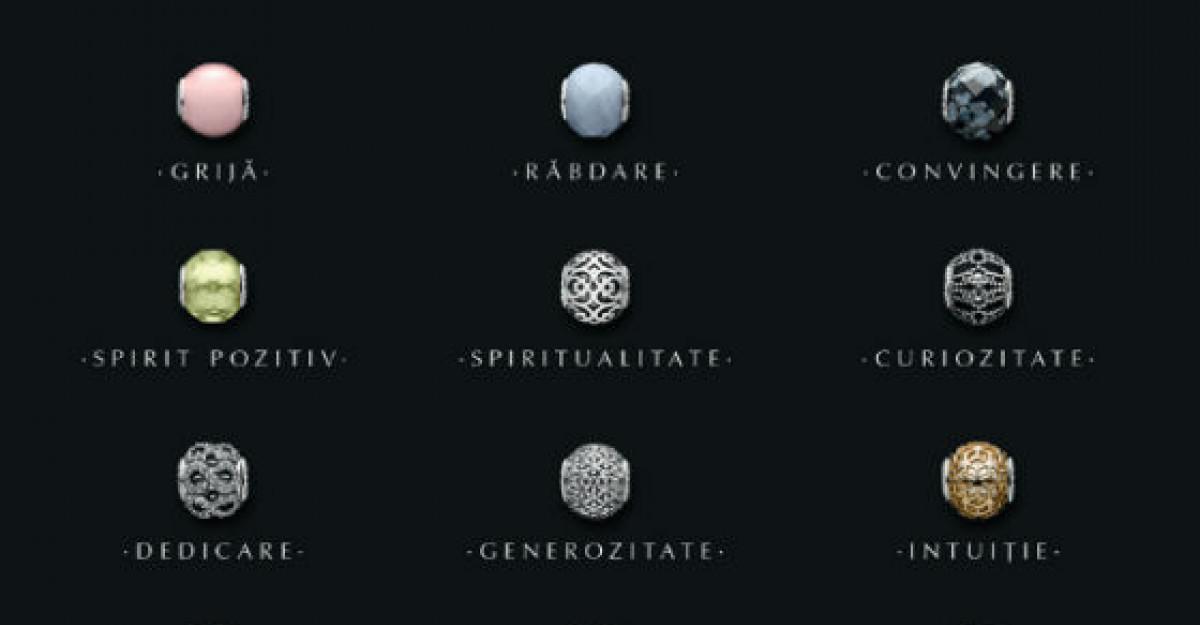 PANDORA ESSENCE COLLECTION - Noi talismane cu valorile tale personale