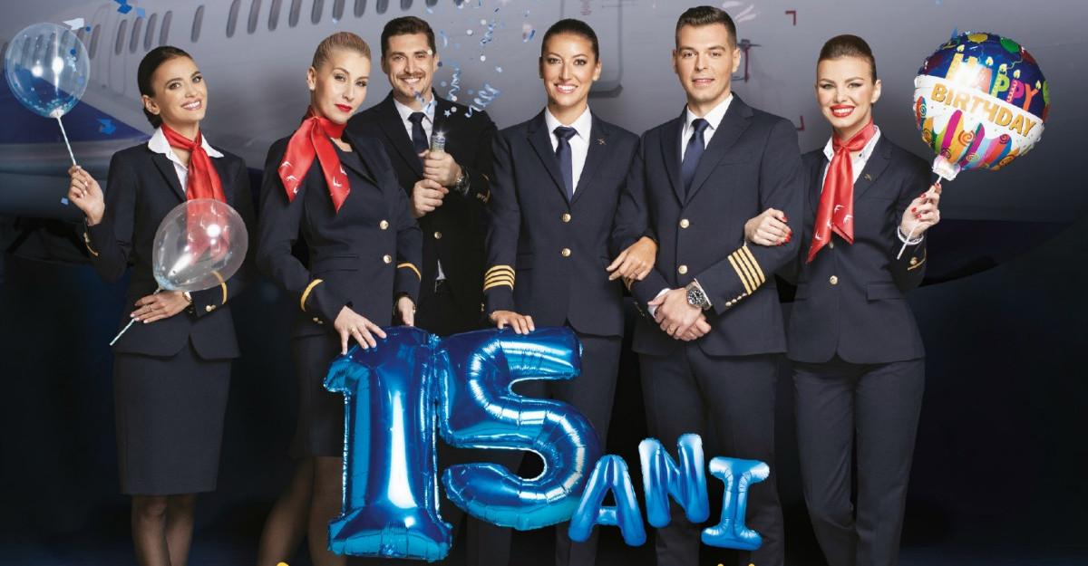 "15 ani de Blue Air marcati prin programul ""Blue Benefits"""