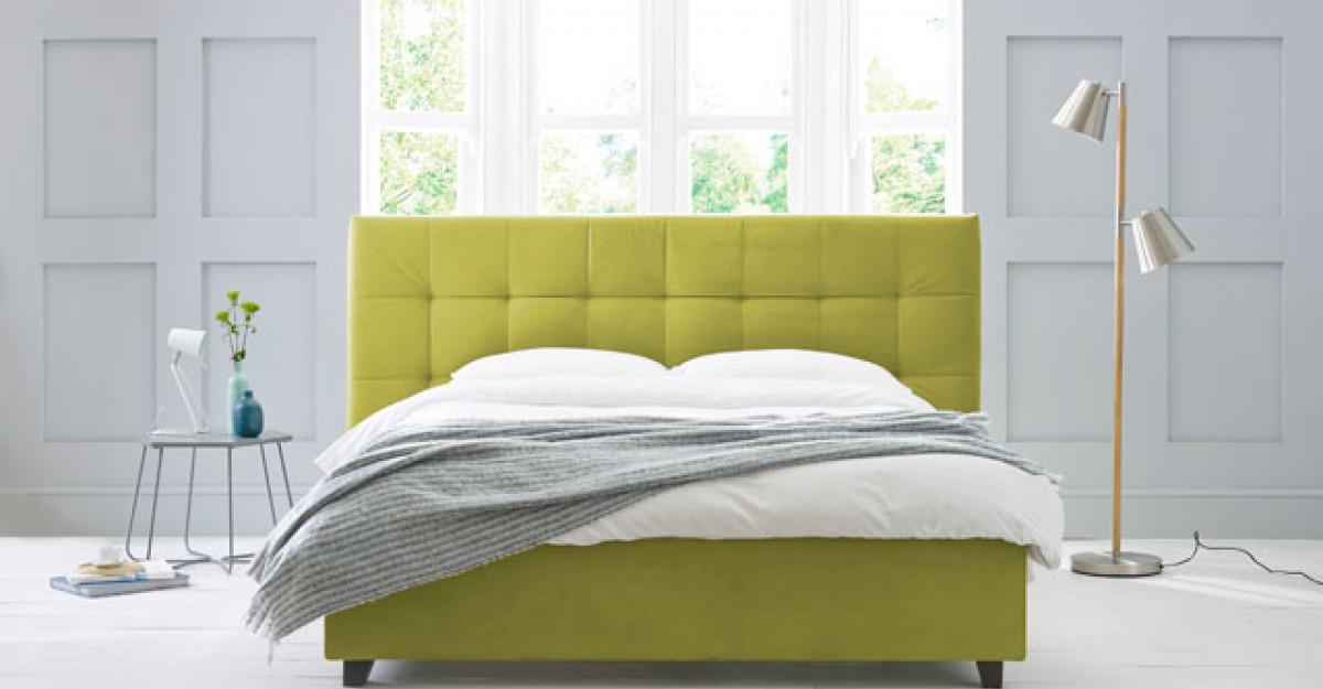 4 culori curajoase pentru paturi