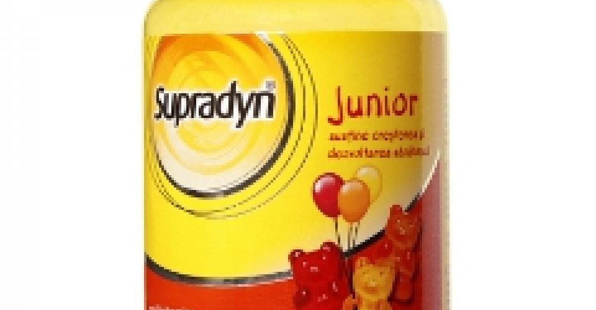 Creste-l mare si frumos cu Supradyn Junior!