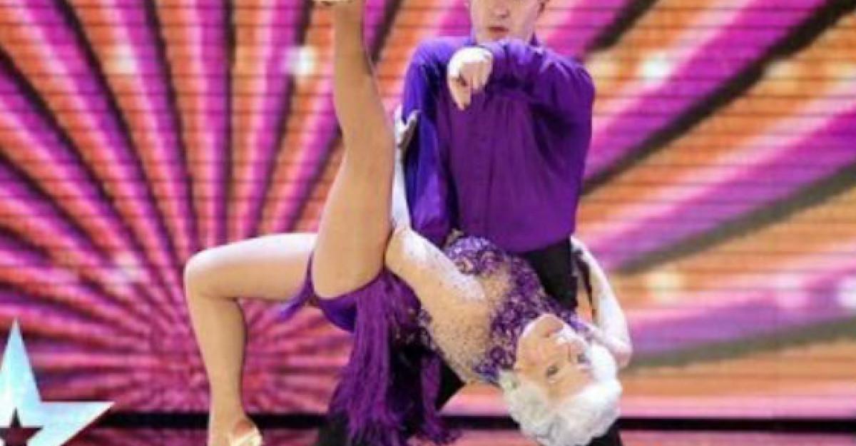 Video: Batranica Paddy si-a revenit! Uite cum a dansat in semifinale! Juratii au fost in delir