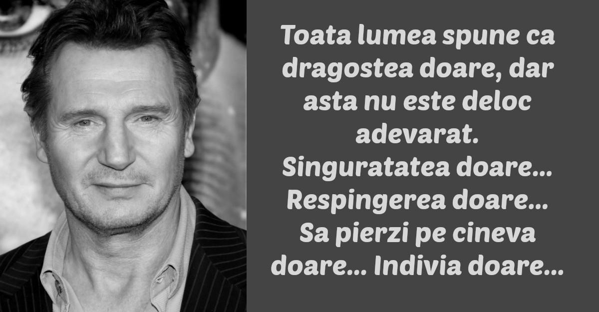 Cele mai frumoase citate ale lui Liam Neeson