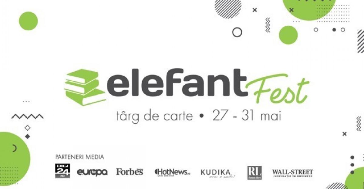 elefantFest începe astăzi. Aproape 50 de evenimentevor avea loc în cele 5 zile de târg