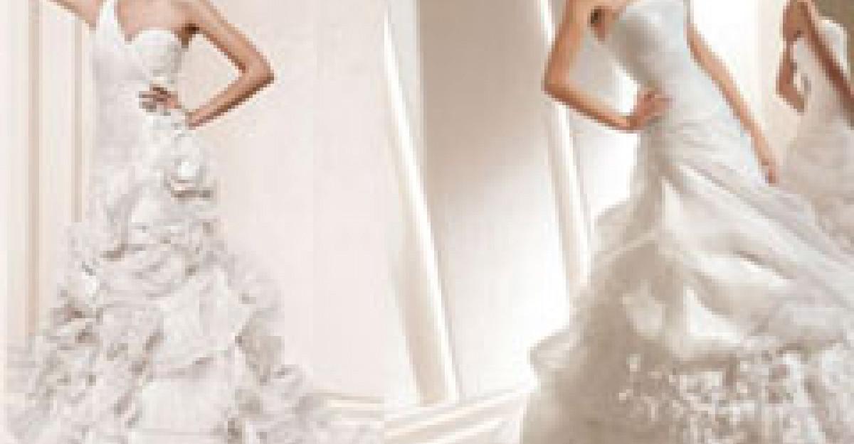 25 Modele fascinante de rochii de mireasa cu volanase