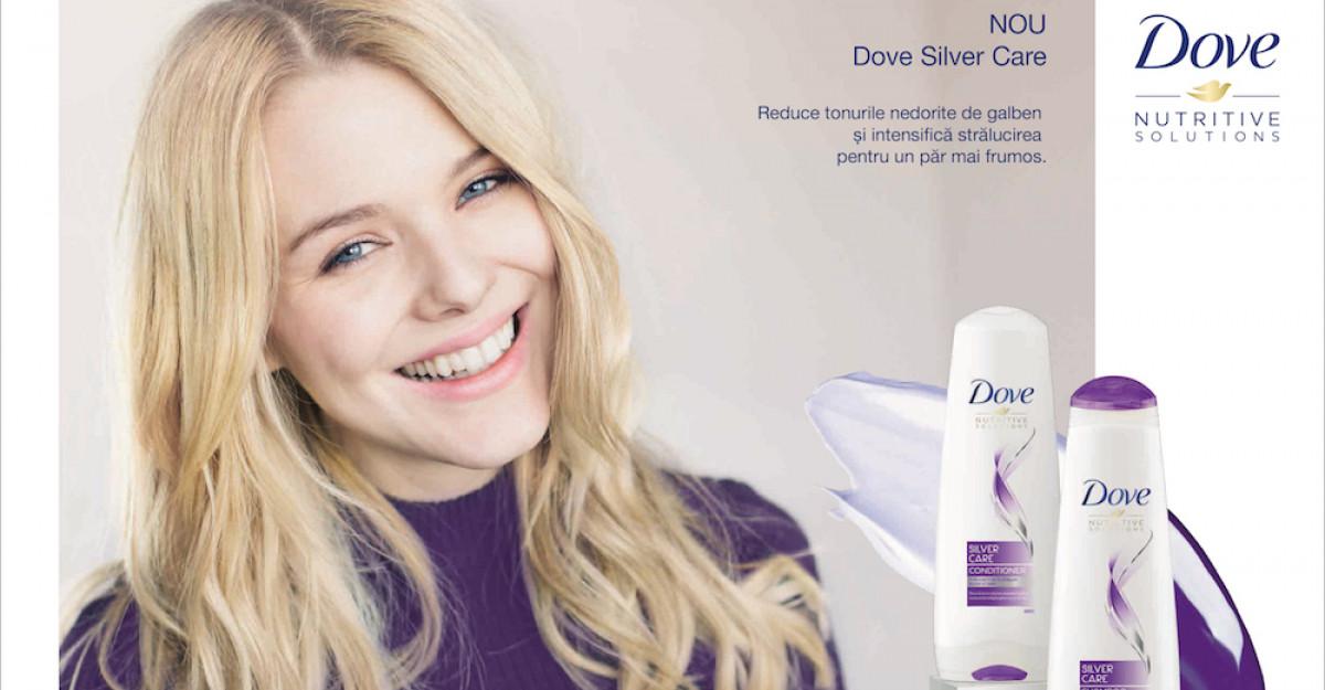 Noua gamă Dove Silver Care - îngrijirea specială pentru părul blond, platinat sau cu nuanțe cenușii