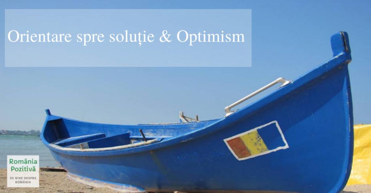 România Pozitivă lansează programul gratuit de învățare online Orientare spre Soluție & Optimism