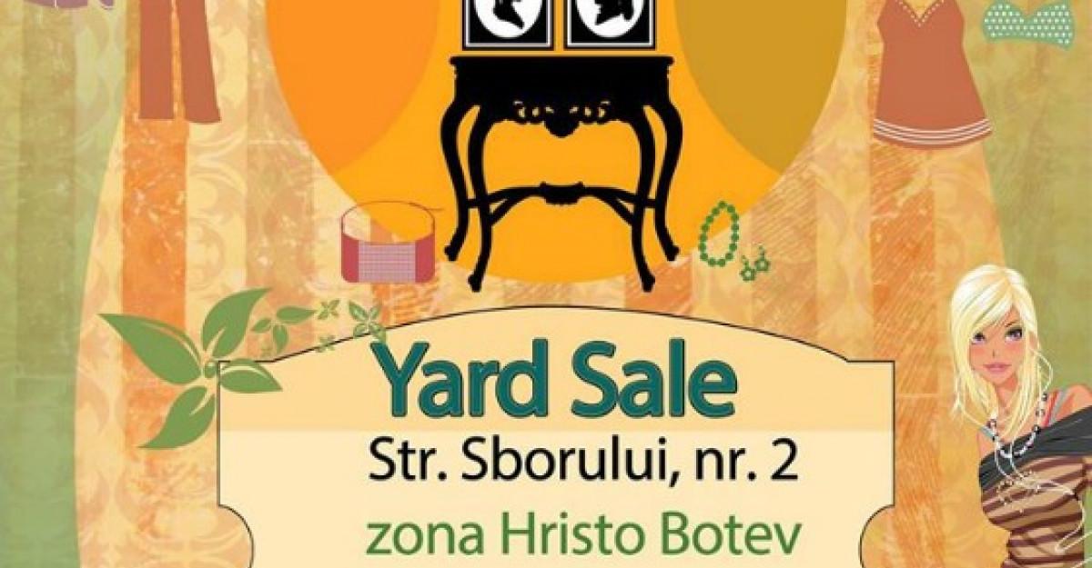 La Yard Sale, te simti ca in casa celui mai bun prieten