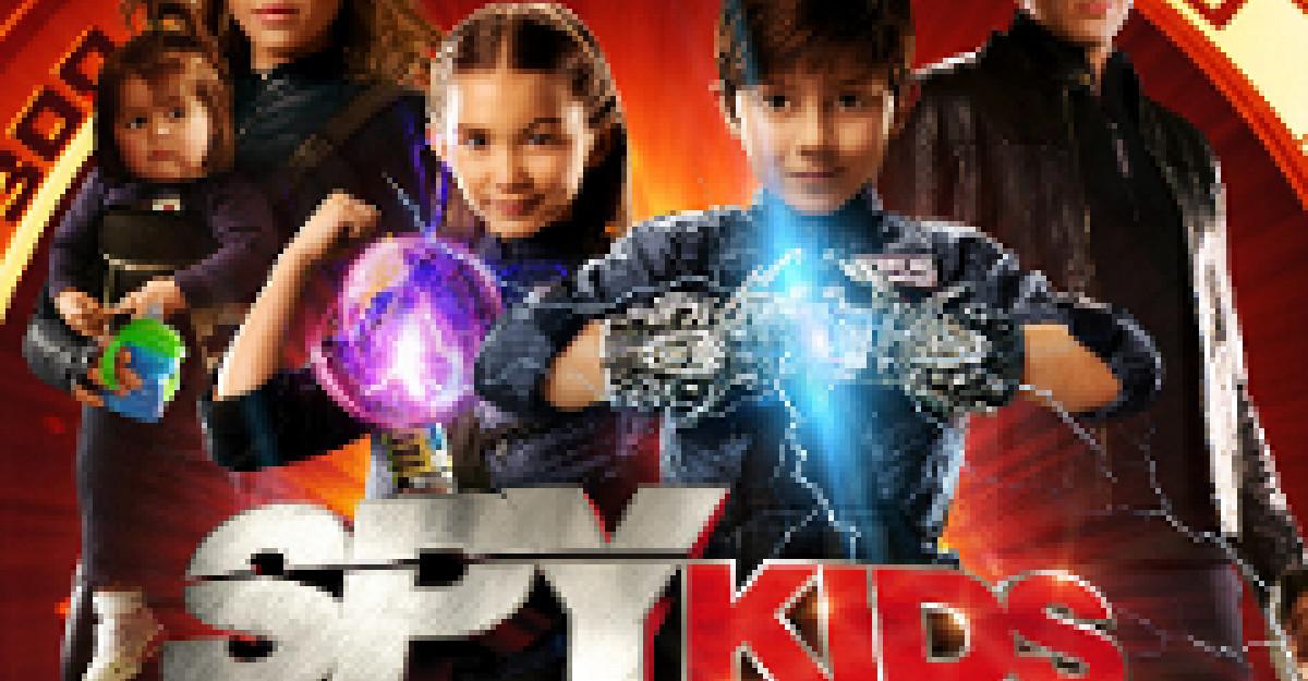 Spy Kids Safirul Timpului in 4D Aromascope