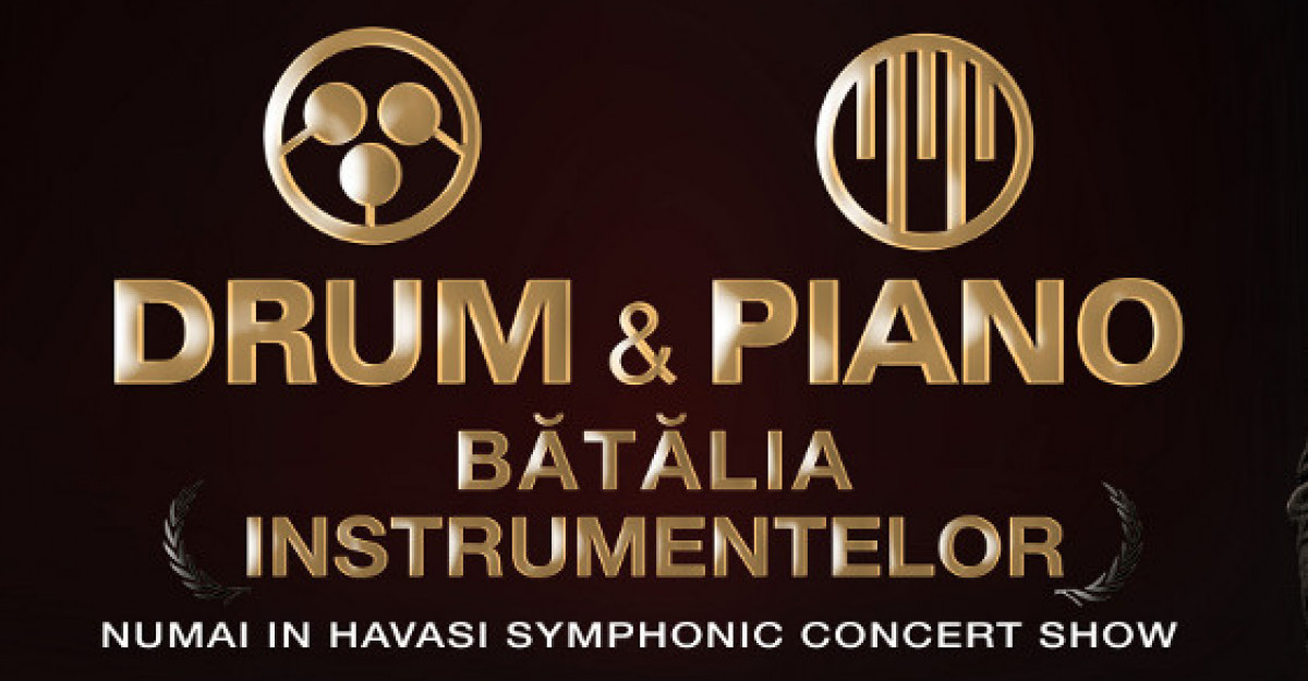 Batalia instrumentelor muzicale: Drum and piano