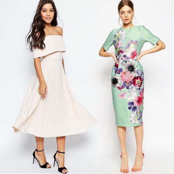 Ne place rochia midi in orice combinatie!
