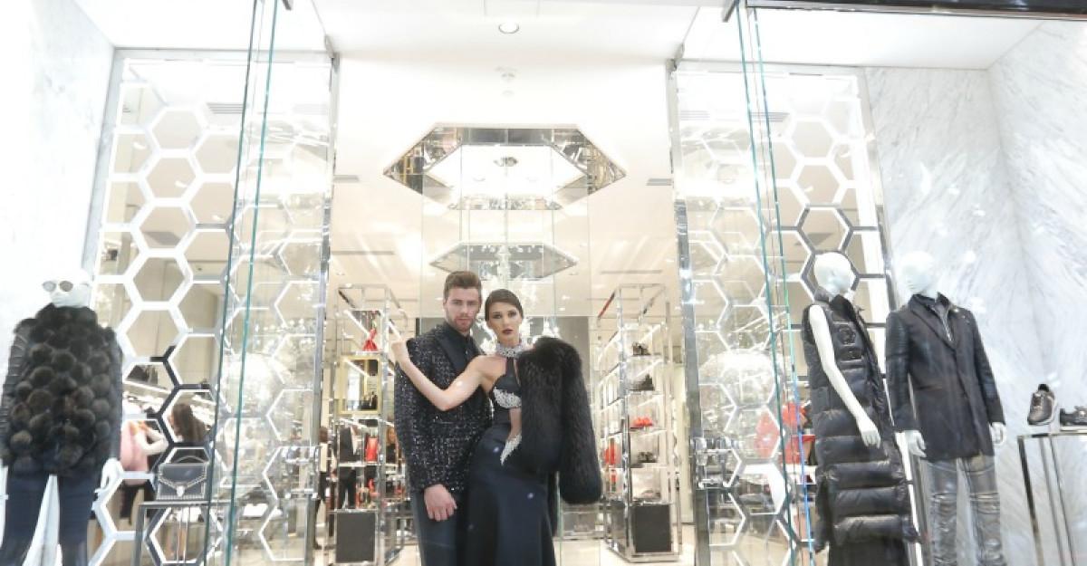 Deschiderea oficiala a monobrandurilor Philipp Plein si Billionaire din Bucuresti