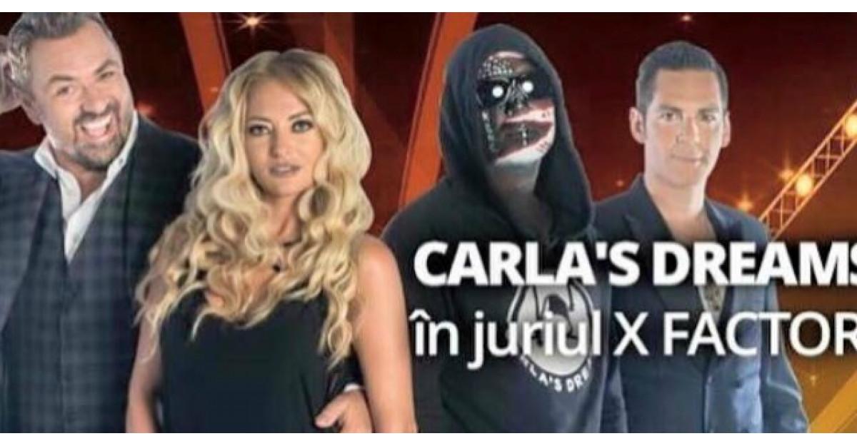 Este oficial: Carla's Dreams in juriul X Factor