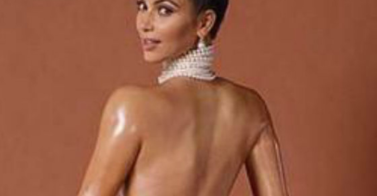 Foto: Pana si fundul lui Kim Kardashian are nevoie de Photoshop. Uite poza de care rade tot internetul