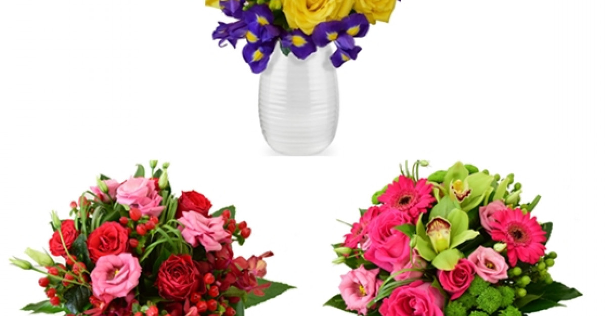 De Sfanta Maria, femeile primesc flori de la Floria.ro