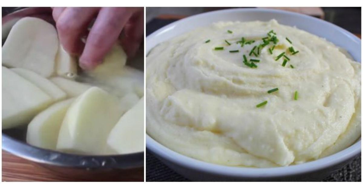 Video: Taie cartofii cuburi si ii lasa in apa. Ce face apoi? Cel mai bun piure din lume