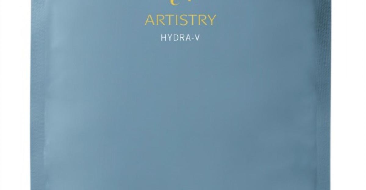 Masca hidratanta ARTISTRY HYDRA-V de la Amway pentru o revitalizare profunda a tenului in sezonul de primavara
